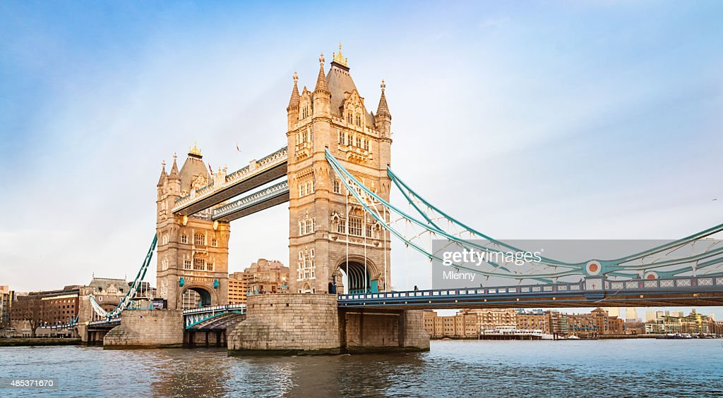 London Tower Bridge, River Thames UK : Stock Photo