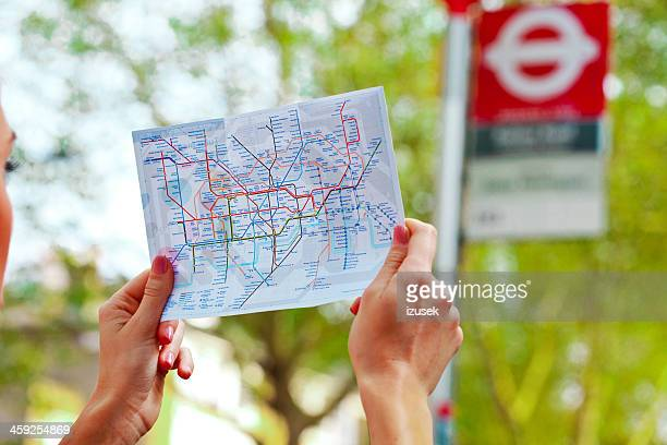 London transport map