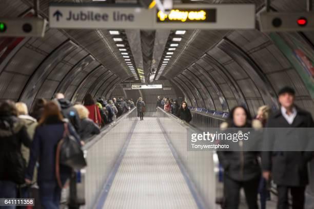 London Tube subway system