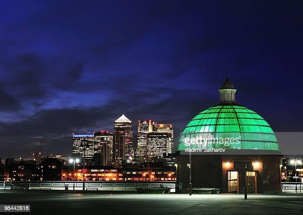 London twilight view