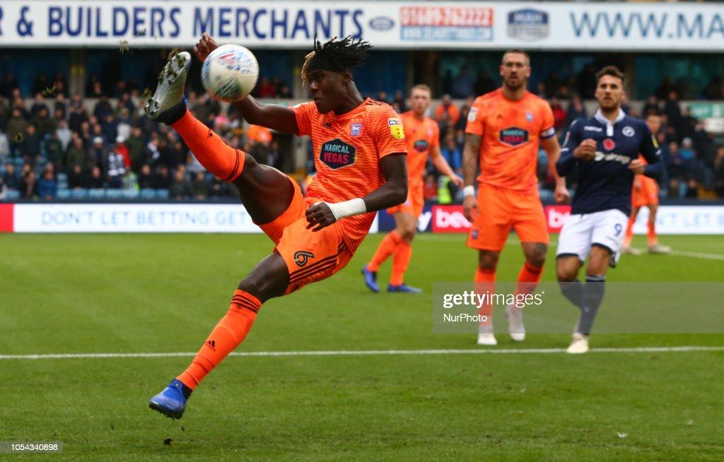 Millwall v Ipswich Town - Sky Bet Championshi : News Photo