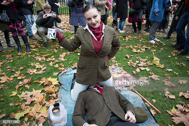 London UK Friday 12th December 2014 Activists simulate sex acts in protest at new censorship laws The organisers of the 'Sexual Freedom'...