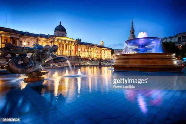 london, uk - トラファルガー広場 ストックフォトと画像