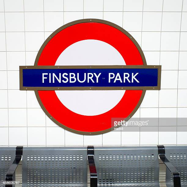 London Underground: Finsbury Park tube station roundel