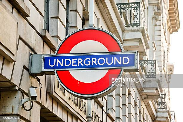 london underground - underground sign stock pictures, royalty-free photos & images