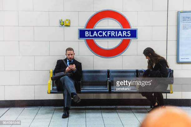 london underground - southwark stock pictures, royalty-free photos & images