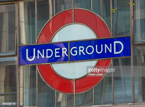 London Underground Sign the Roundel