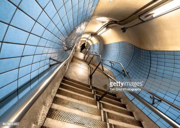London Underground Stair Case