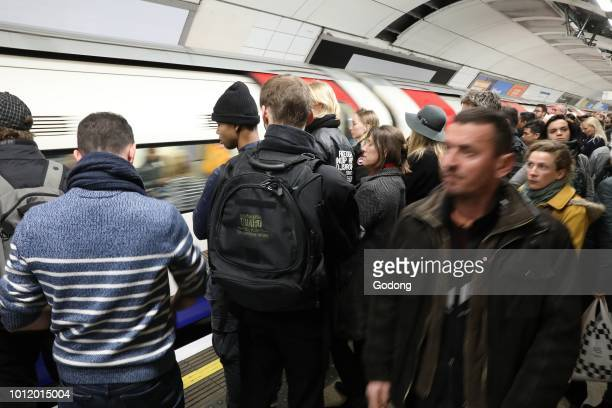London underground station UK