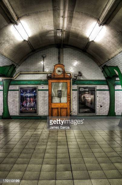 CONTENT] London Underground Warwick Avenue station Photo is of the original station phone box between the north and southbound platforms The image...