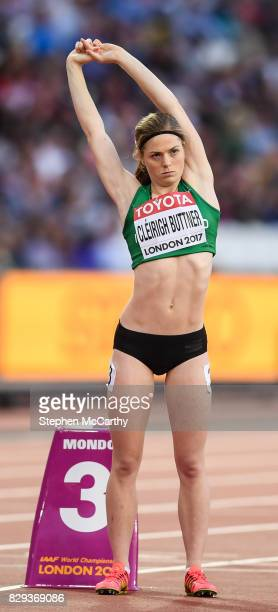 London United Kingdom 10 August 2017 Siofra Cleirigh Buttner of Ireland prior to round one of the Women's 800m event during day seven of the 16th...