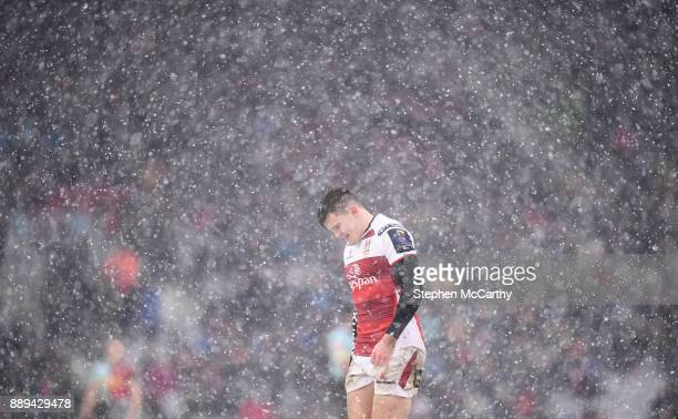 London United Kingdom 10 December 2017 Jacob Stockdale of Ulster during the European Rugby Champions Cup Pool 1 Round 3 match between Harlequins and...