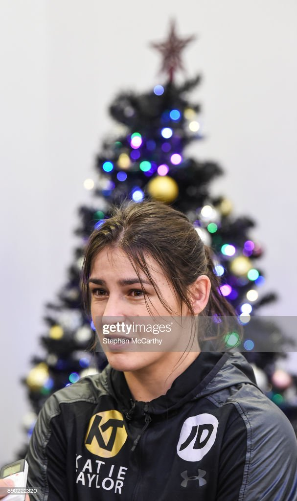 Courthouse Hotel Shoreditch: 11 December 2017; Katie Taylor