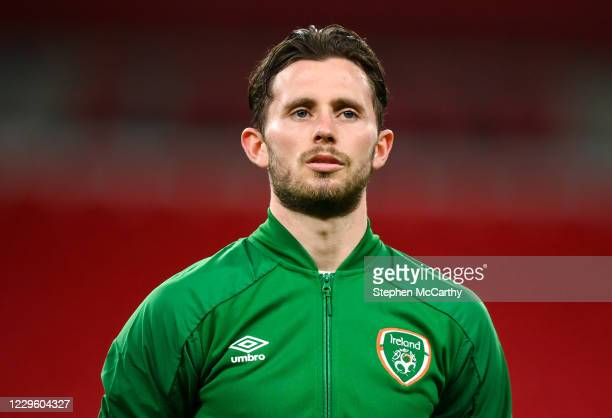 London , United Kingdom - 12 November 2020; Alan Browne of Republic of Ireland during the International Friendly match between England and Republic...