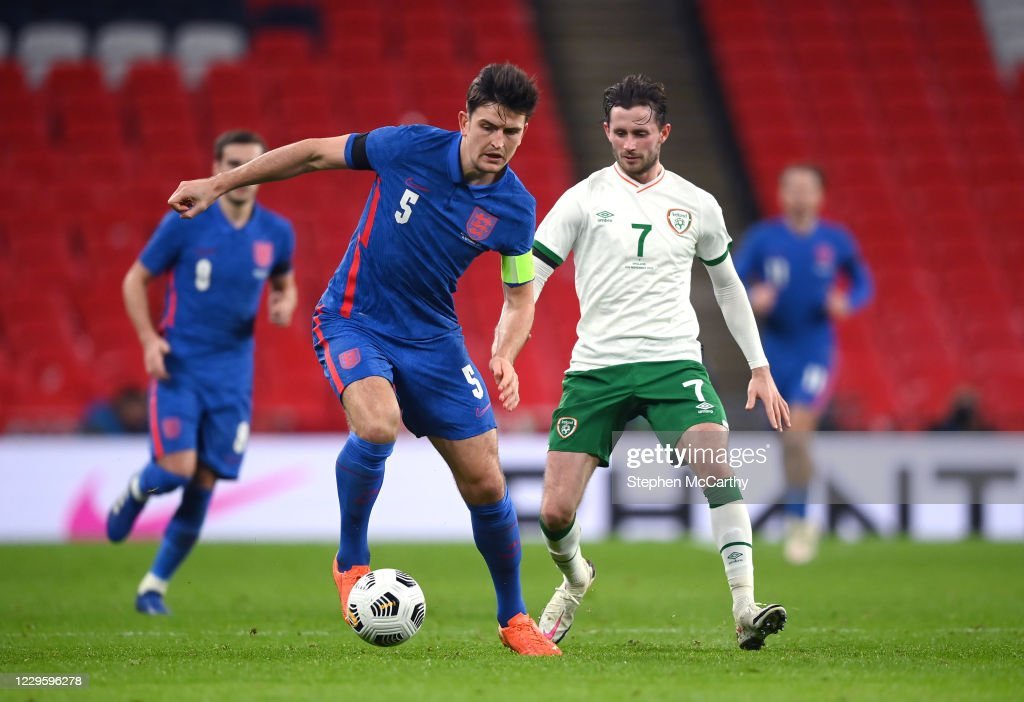London , United Kingdom - 12 November 2020; Harry Maguire of England... News Photo - Getty Images