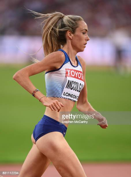 London United Kingdom 13 August 2017 Eilish McColgan of Great Britain the final of the Women's 5000m event during day ten of the 16th IAAF World...