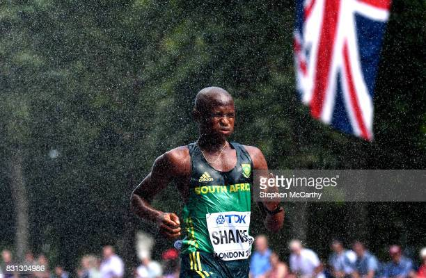 London United Kingdom 13 August 2017 Lebogang Shange of South Africa competes in the Men's 20km Race Walk final during day ten of the 16th IAAF World...