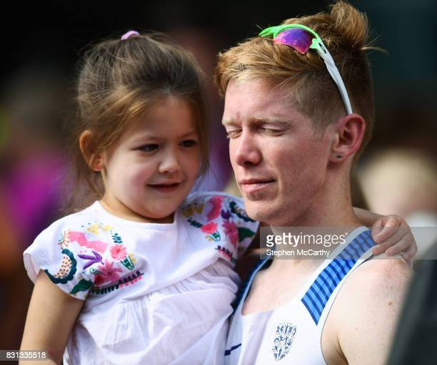 London United Kingdom 13 August 2017 Tom Bosworth of Great Britain after being disqualified in in the Men's 20km Race Walk final during day ten of...