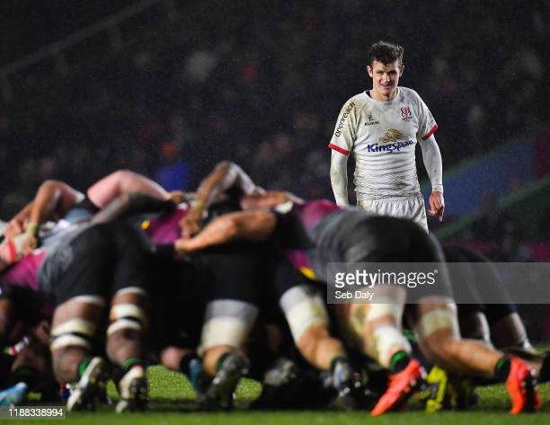 London United Kingdom 13 December 2019 Billy Burns of Ulster during the Heineken Champions Cup Pool 3 Round 4 match between Harlequins and Ulster at...