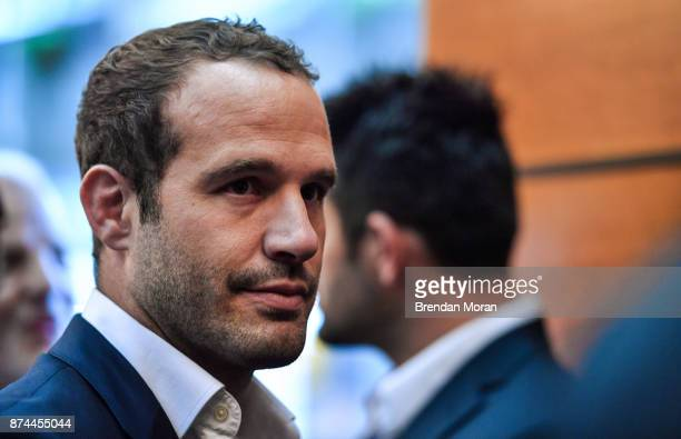London United Kingdom 15 November 2017 France 2023 bid member Frederic Michalak in attendance at the Rugby World Cup 2023 host union announcement at...