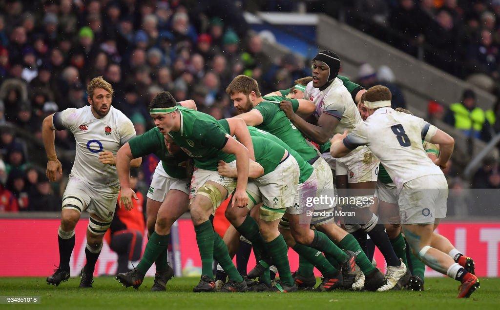 England v Ireland - NatWest Six Nations Rugby Championship : News Photo