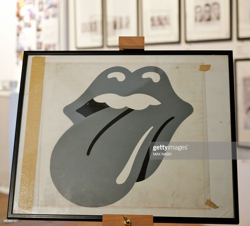 70's John Pasche Rolling Stones European : News Photo