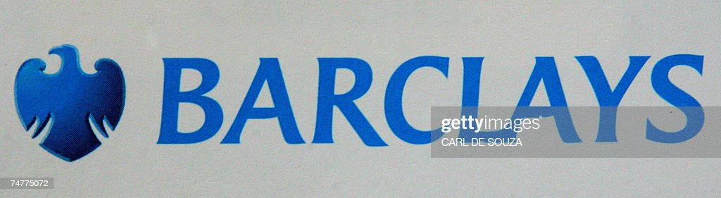 A Barclays Bank logo is pictured in London, 19 June 2007