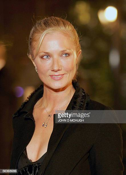 Actress Joely Richardson arrives at the world premiere of The Lion The Witch and The Wardrobe in London 07 December 2005 The movie is adapted from...