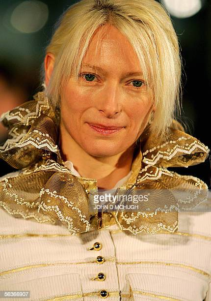 Actress Tilda Swinton who plays Jadis The White Witch arrives at the world premiere of The Lion The Witch and The Wardrobe in London 07 December 2005...