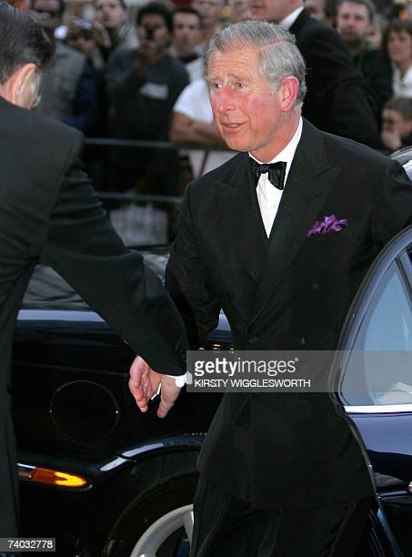 Britain's Prince Charles arrives to the Royal world premiere of the film Stairway to Heaven in Leicester Square London 30 April 2007 Stairway to...