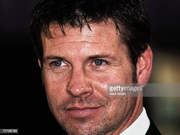 British actor Lloyd Owen arrives for the World Premiere of his latest film Miss Potter at London's Leicester Square 03 December 2006 AFP PHOTO/MAX...