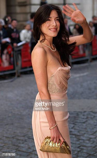 London, UNITED KINGDOM: British actress Jamie Murray, arrives for the British Premiere of the film, Volver by Spanish director Pedro Almodovar, in...