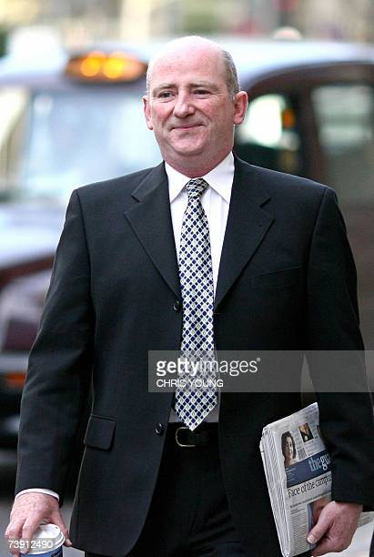 David Keogh arrives at the Central Criminal Court in London 18 April 2007 Keogh a former civil servant and researcher Leo O'Connor are charged under...