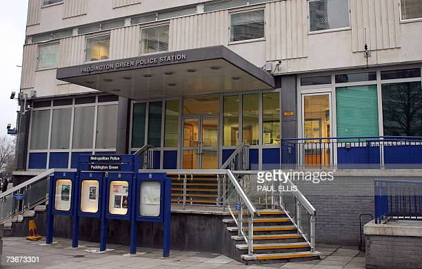 London, UNITED KINGDOM: General view of Paddington Green High Security Police Station in London, Britain, 22 March 2007. Three men were arrested at...