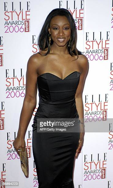 Singer Beverly Knight arrives at the Atlantis Gallery in Brick Lane to attend the Elle Style Awards 2006 in London Monday February 20 2006