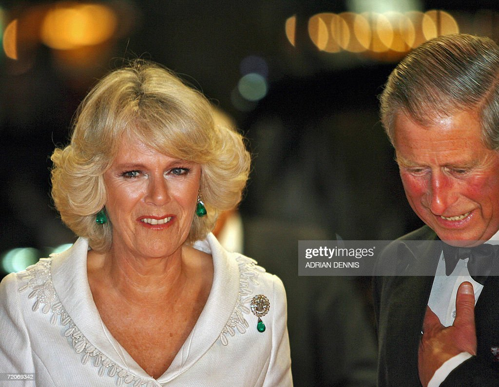 The Duchess of Cornwall (L) and her husb : News Photo