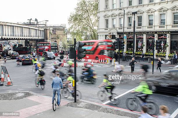 London urban street scene - Tooley and London Bridge Rd