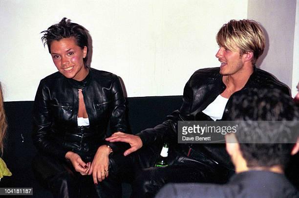London Victoria Adams And David Beckham 'Versace Party At The London Shop