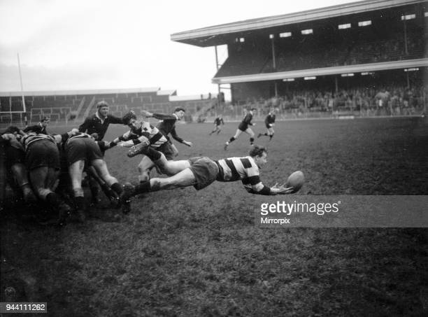 London Wasps v Cardiff Blues Rugby Union match December 1959