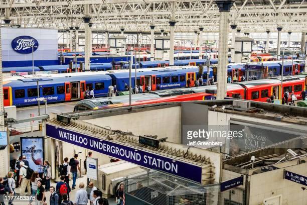 London Waterloo Station underground station entrance