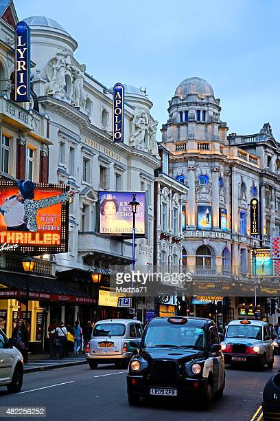 london west end - west end london stock photos and pictures