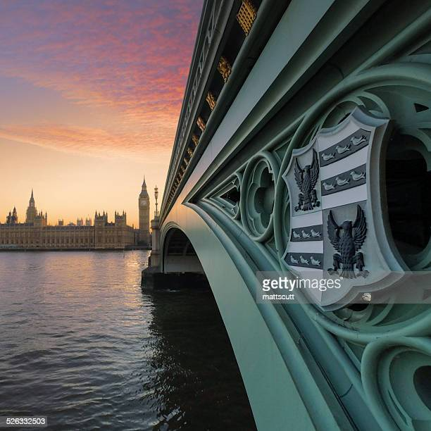 uk, london, westminster bridge and big ben - mattscutt stock pictures, royalty-free photos & images