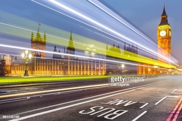 london westminster bridge dynamic - lagarde stock pictures, royalty-free photos & images