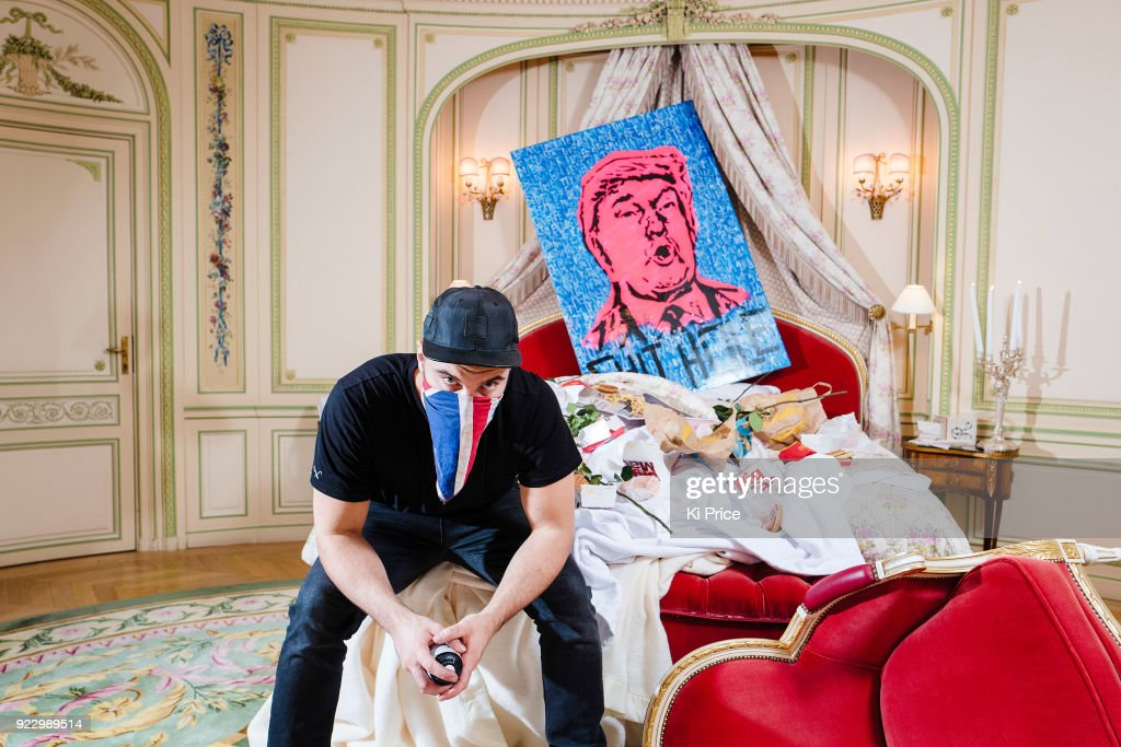 Endless Artist Donald Trump Portrait