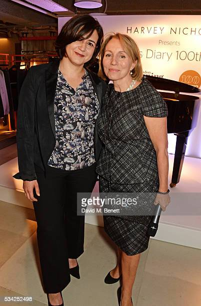 Londoner's Diary editor Joy Lo Dico and Sarah Sands Editor of the London Evening Standard attend the London Evening Standard Londoner's Diary 100th...