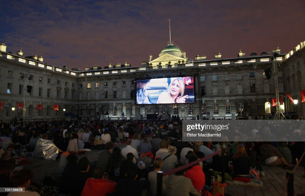 Somerset House Launches It's Film4 Summer Screen : ニュース写真
