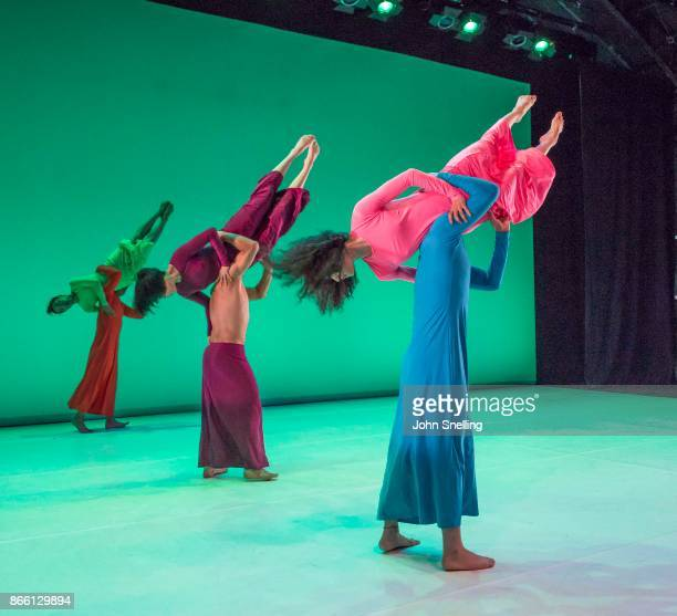 London's dance Umbrella Festival 2017 'Let Me Change Your Name' The Company perform on stage during a photocall at The Place London Let Me Change...