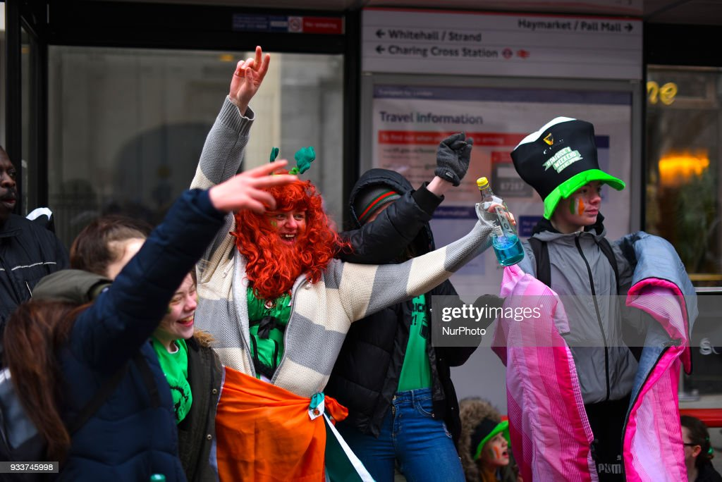 St Patrick's Day Festival In London