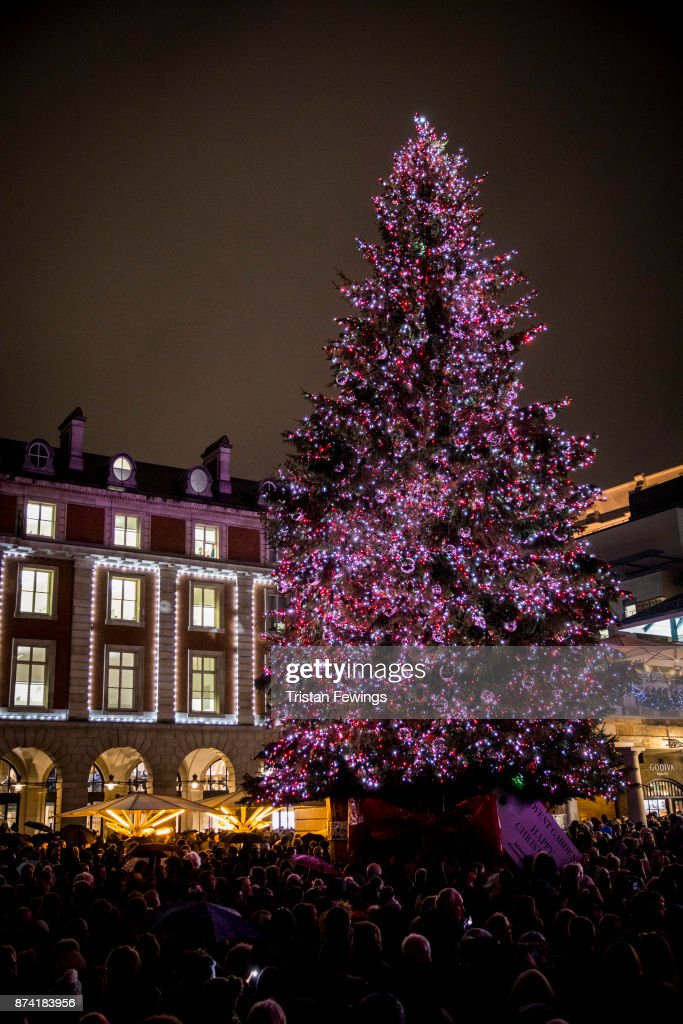Covent Garden Christmas Lights Switch On Photos And Images Getty