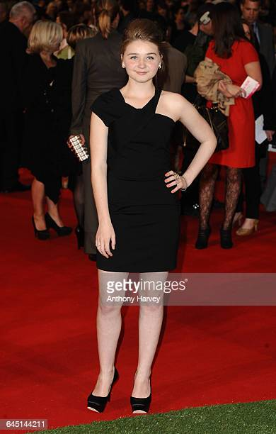 Actress Jessica Barden attends the 'Tamara Drewe' Premiere at the Odeon Cinema Leicester Square on September 6 2010 in London